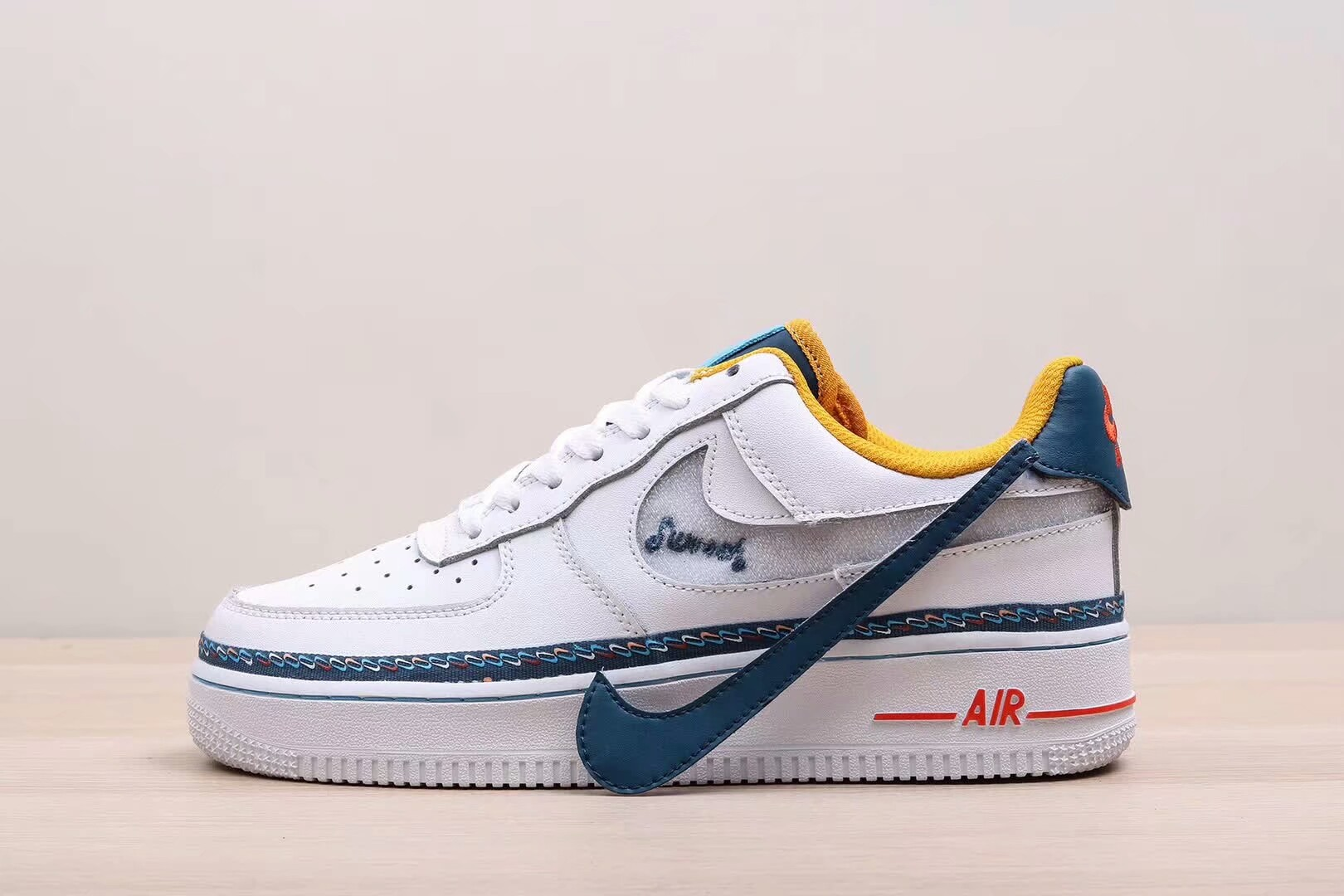 Air Force 1 Low GS 'Swoosh Chain