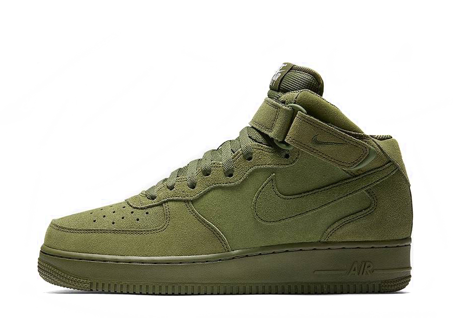 Air Force 1 Mid '07 'Olive' 315123 302
