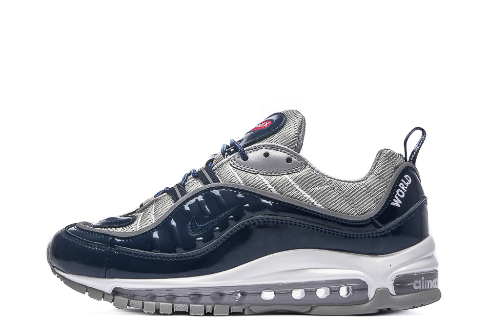 Air Max 98 x Supreme 'Blue' 844694 400