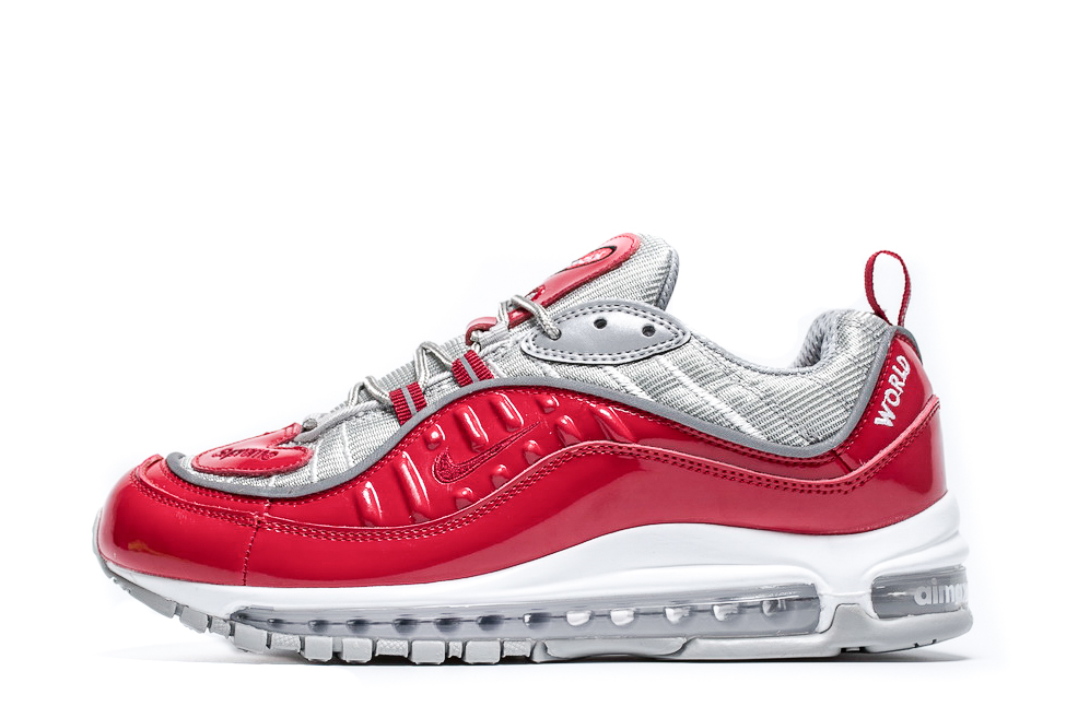 Air Max 98 x Supreme 'Red' 844694 600