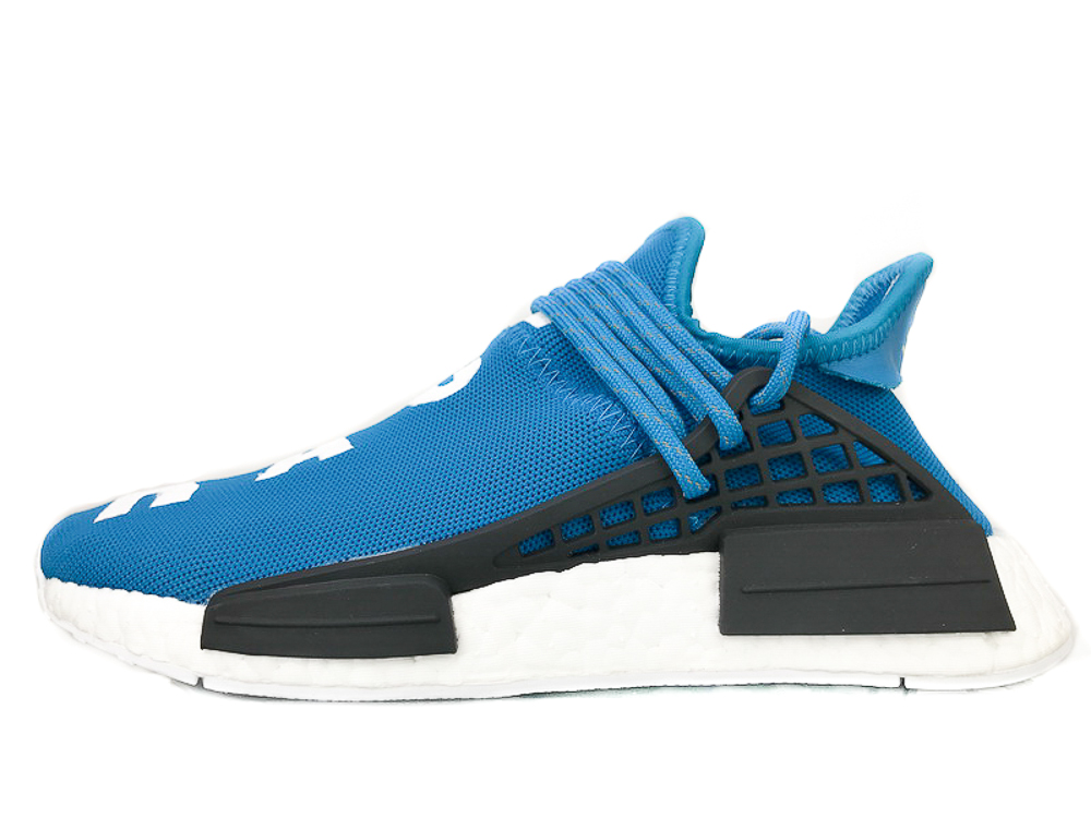 "PW HUMAN RACE NMD ""PHARRELL"" 'Sharp Blue' BB0618"