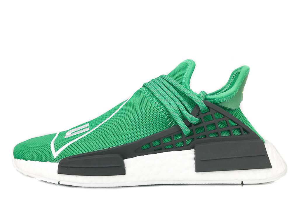 "PW HUMAN RACE NMD ""PHARRELL"" 'Green' BB0620"