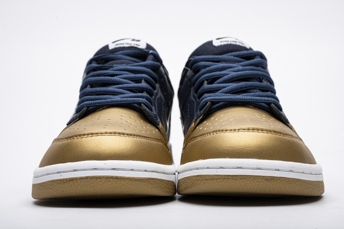 Supreme x Dunk SB Low 'Metallic Gold' CK3480 700