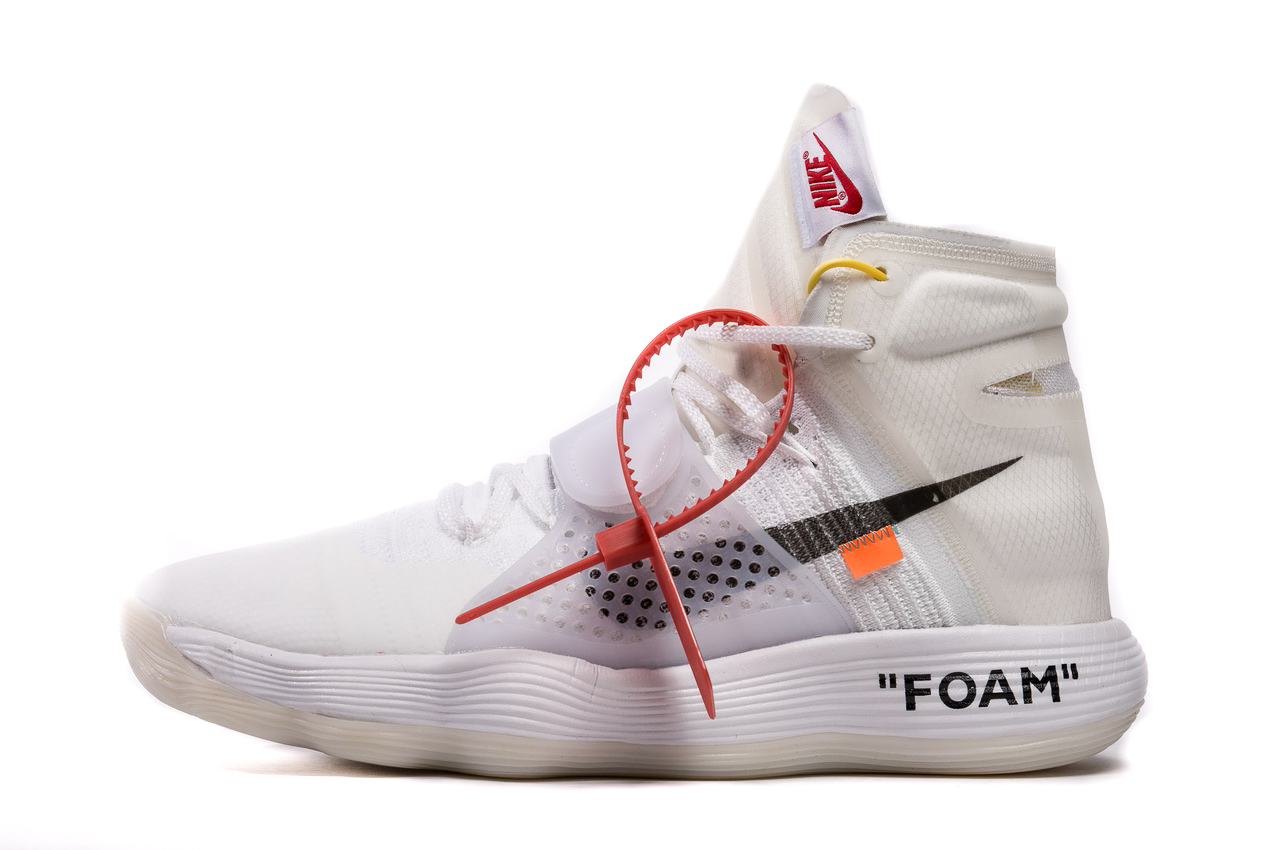 THE 10:Off-White AIR Hyperdunk Flyknit 'White' AJ4578 100