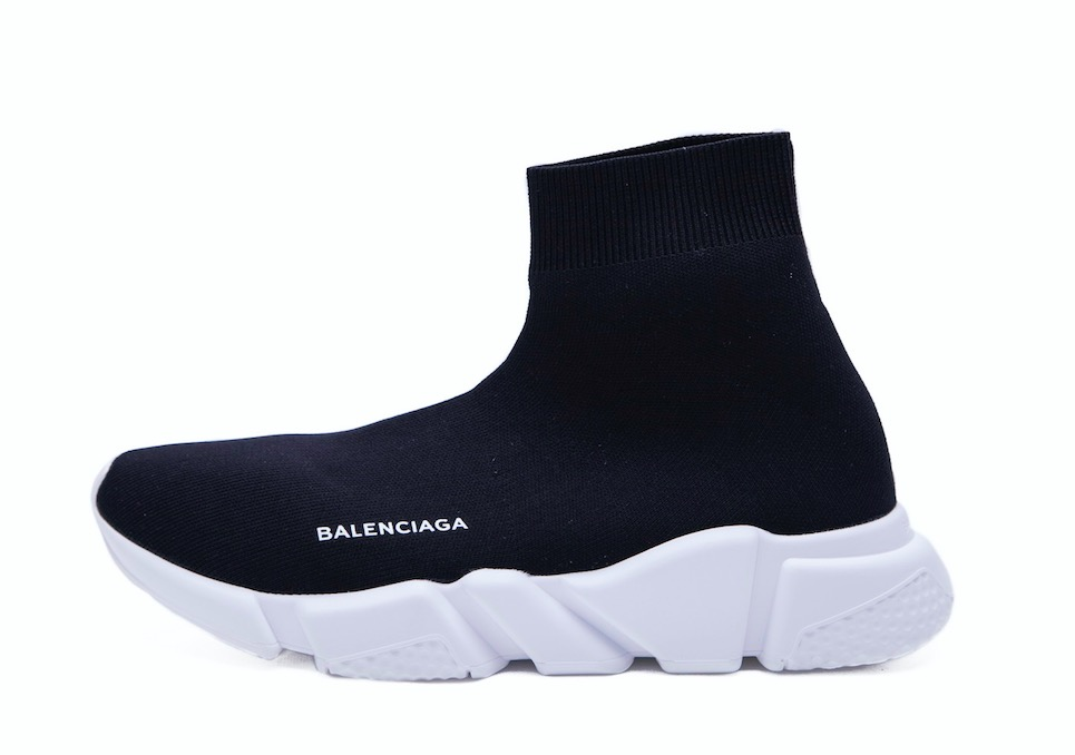 Balenciaga Speed Trainer Mid 'Black' 458653W05G01000