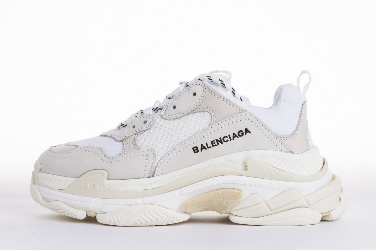 Balenciaga Triple S Trainer 'White' 2018 490671 W06F1 9000