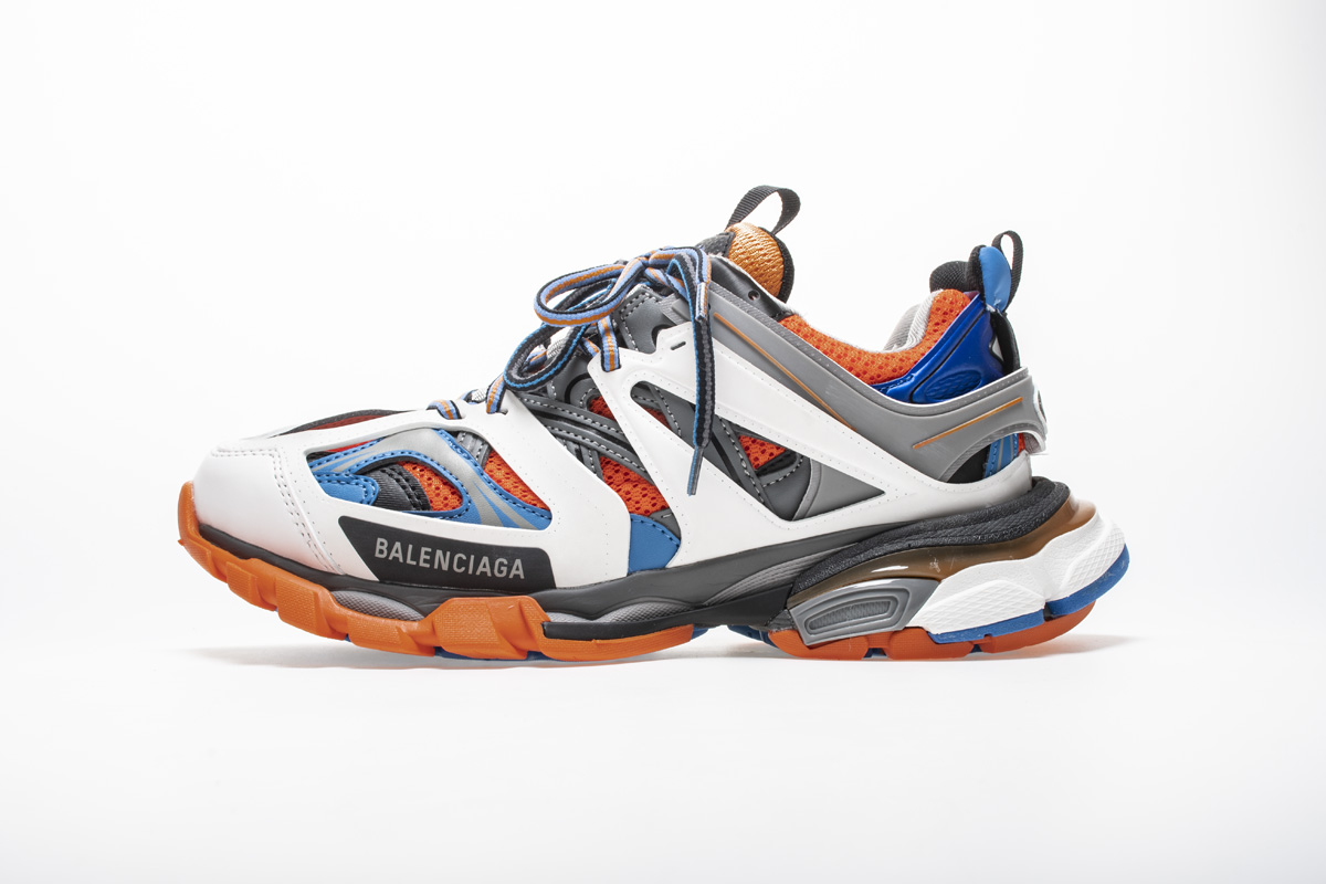 Balenciaga Track Trainer 'Orange Grey' 542023 W1GB1 7580