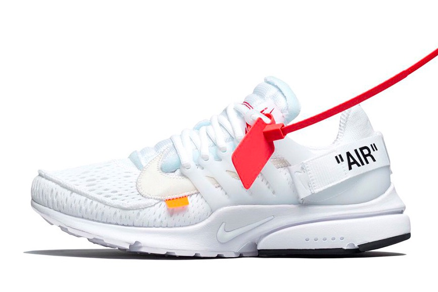 OFF-WHITE x Air Presto 'White' AA3830 100