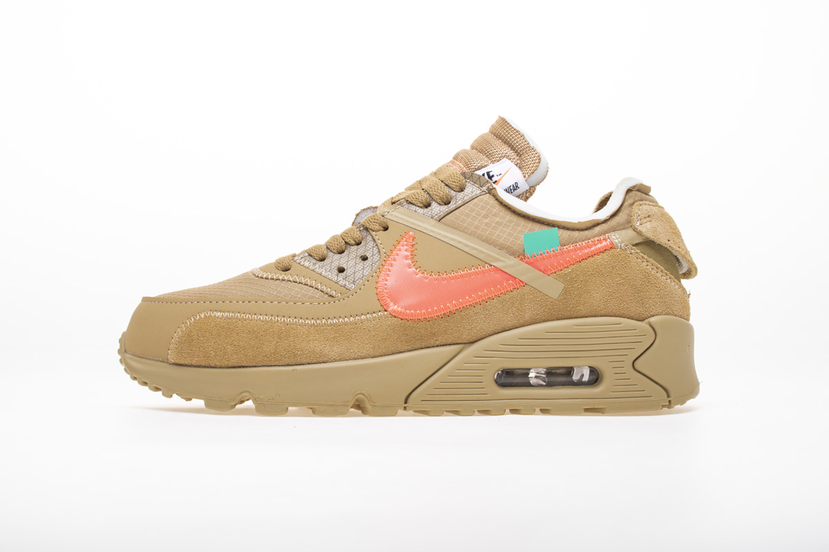 OFF-WHITE x Air Max 90 'Desert Ore' AA7293 200